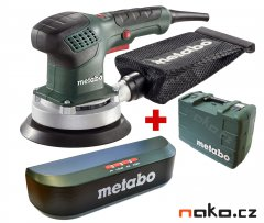 METABO SXE 3150 excentrická bruska 150mm v kufru + BLUETOOTH REPROD...