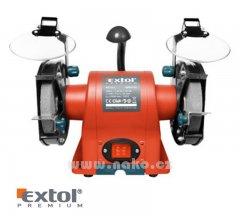 EXTOL PREMIUM BG 35L bruska stolní dvoukot.350W, 150mm (8892110)