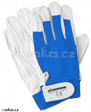 ISSA rukavice pracovní mikrovlákno a úplet 07202 vel. 9