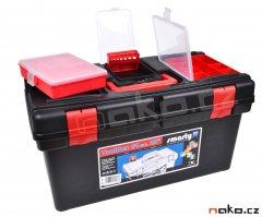 LEMCO 1895 kufr plastový 510mm, polička P1802, krabičky