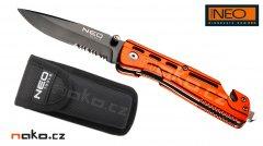 NEO TOOLS 63-026 zavírací nůž rescue