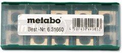 Metabo sada tvrdokovových nožů pro frézu na lak Lf 724 S (10ks) 6.3...