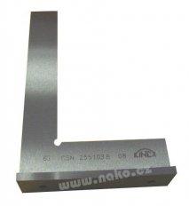KINEX úhelník příložný přesný kalený 63mm, 4058, 255103.B
