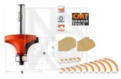 CMT C93818711 fréza zaoblovací vydutá R3