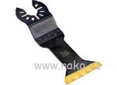DeWALT DT20702 titanový pilový list pro řezání dřeva a kovu 44x55mm