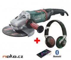 METABO WE 22-230 MVT úhlová bruska 230mm, 2200W 606464 + bluetooth sluchátka