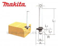 MAKITA D-09422 fréza na zaoblené hrany R3, stopka 6mm