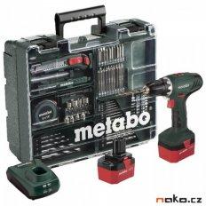 Metabo BS 12 NiCd aku vrtačka 2x1,7Ah MOBILNÍ DÍLNA 602194880