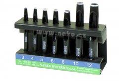 NAREX sada tyčových výsečníků 3-12mm 8548 00