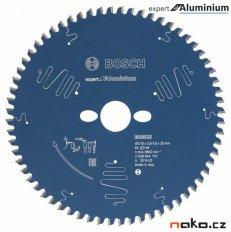 BOSCH pilový kotouč expert for Aluminium 254x30mm 80z -5°neg 2608644112 na hliník