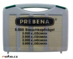 PREBENA J-BOX kolářské hřebíčky J25,J32,J40,J50 CNKHA 8000ks