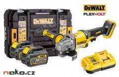 DeWALT DCG414T2 XR FLEXVOLT aku úhlová bruska 125mm, 2x 18/54V 6.0/...