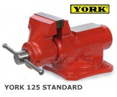 Svěrák YORK standard dílenský 125 mm