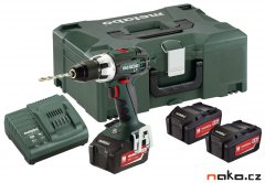 METABO BS 18 LT aku vrtačka 3x4Ah LiIon MetaLoc 602102960