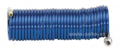 Hadice spirálová 7,5m pr.6/8mm modrá METABO