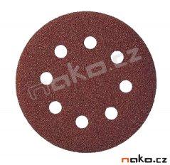 KLINGSPOR PS22K 150mm K 80 GLS2 smirkový výsek suchý zip