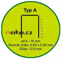 Spony A12CNK PREBENA (bal=6.000ks)