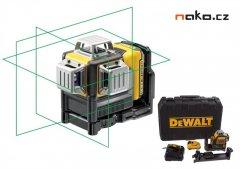DeWALT DCE089D1G Aku křížový laser 360° 10,8V 2,0Ah, zelený paprsek...
