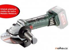 METABO W 18 LTX 150 aku úhlová bruska bez akumulatoru 600404890
