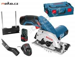 BOSCH GKS 10,8 V-Li Professional 2x2,5Ah Li-Ion L-Boxx aku okružní ...