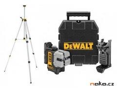DeWALT DW089KTRI multi line laser, samonivelační křížový laser + stativ DE0881