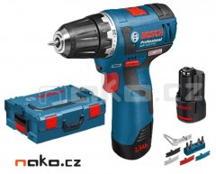 BOSCH GSR 10,8 V-EC Professional aku šroubovák 2x2,5Ah 06019D4004