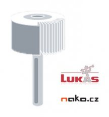 LUKAS SFL 80x50x6 NK120 brousící vějíř stopkový