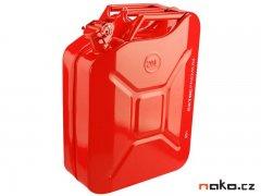 EXTOL PREMIUM 8863200 kanystr ocelový na benzín, 20l