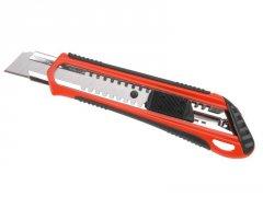 EXTOL PREMIUM nůž odlamovací 18mm pogumovaný 8855022