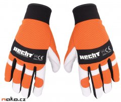 HECHT 900107 rukavice pro práci s motorovou pilou vel. L