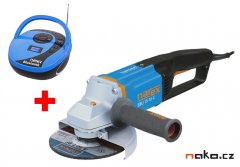 NAREX EBU 15-16 C úhlová bruska 150mm + Radio Narex BT 01 (65404509)