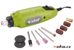 EXTOL CRAFT 404120 mini vrtačka a bruska s transformátorem