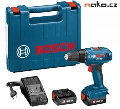 Bosch GSR 1440-LI Professional Aku šroubovák 2x1,5Ah