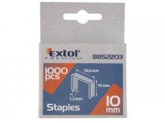 EXTOL PREMIUM spony 10mm 10,6x0,52x1,2mm 1000ks 8852203