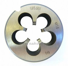 Závitová kruhová čelist 223210NO M5 /210 050/6g