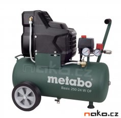 METABO Basic 250-24 W OF kompresor bezolejový 601532000