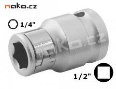 "PROTECO adaptér 1/2""- 1/4"" redukce pro bity 43.120-01"