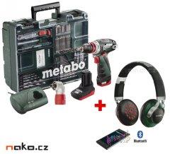 METABO PowerMaxx BS Quick Pro mobilní dílna 10,8V 4Ah+2Ah Li-Ion 60...