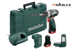 METABO PowerMaxx BS Basic Set aku šroubovák 10,8V 2x2Ah Li-Ion 6000...