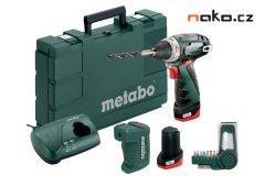 METABO PowerMaxx BS Basic Set aku šroubovák 10,8V 2x2Ah Li-Ion 600080910