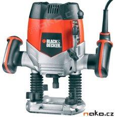 BLACK&DECKER KW900EKA vrchní frézka 1200W