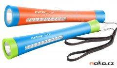 EXTOL LIGHT 43111 svítilna 1W+10 LED s magnetem