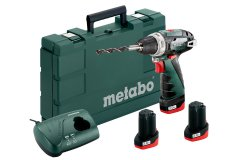 METABO PowerMaxx BS Basic SET aku šroubovák 10,8V 3x2Ah Li-Ion 6000...