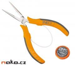 NEO TOOLS kleště půlkulaté dlouhé 130mm 01-102
