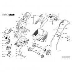 BOSCH F016L65108 pohonná hřídel