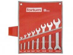 FORTUM 4730102 sada plochých klíčů 6-24mm