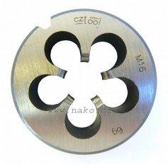 Závitová kruhová čelist 223210NO M10 /210 100/