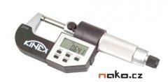 KINEX mikrometr třmenový digitální 100-125mm, 0,001mm, 7034