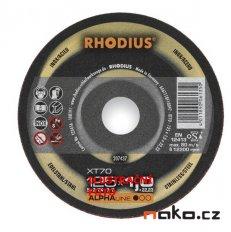 RHODIUS 115x1.0 XT10TOP řezný kotouč