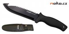 EXTOL PREMIUM lovecký nůž 270/150mm nerez s nylonovým pouzdrem 8855302